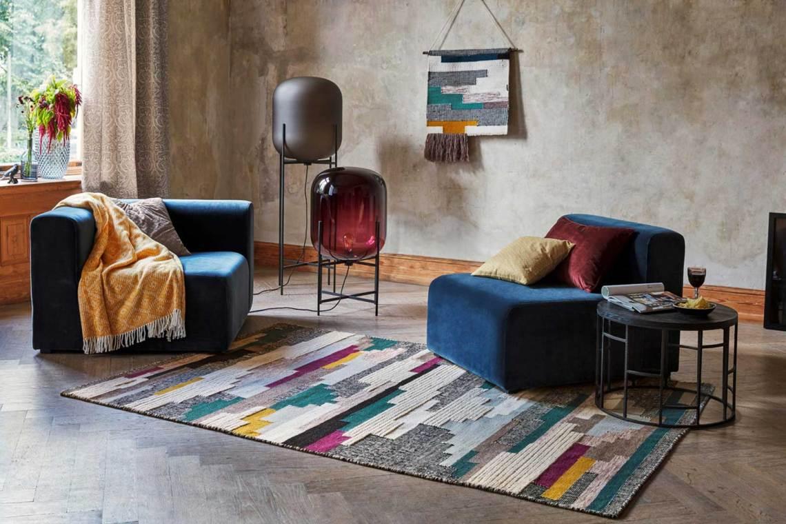 tapis style Kilim