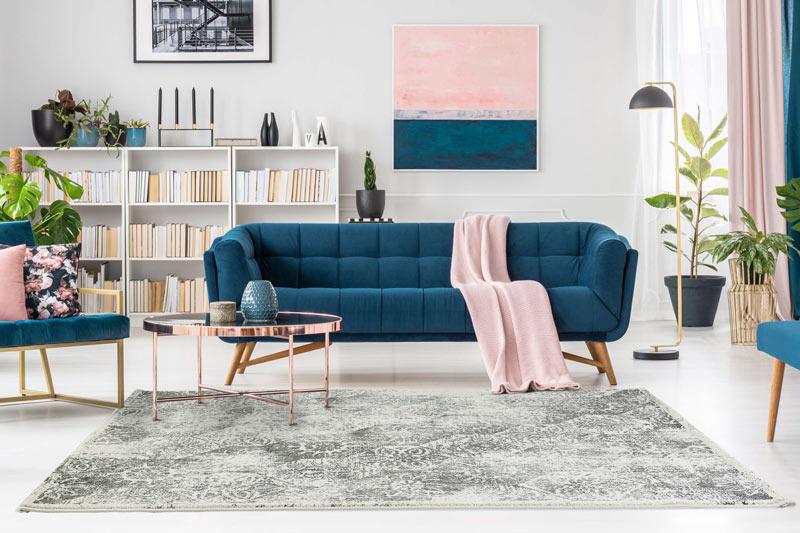 tapis vintage pour salon