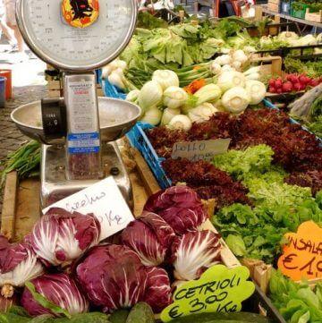 fresh, vegetable, market, Rome