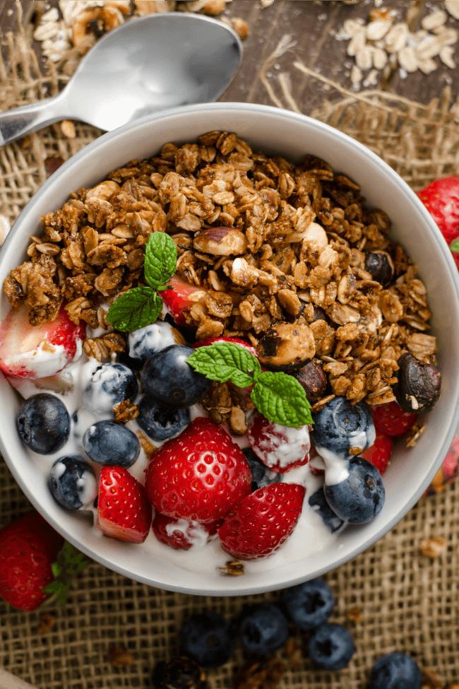 The Healthier Way Easy Homemade Granola Recipe
