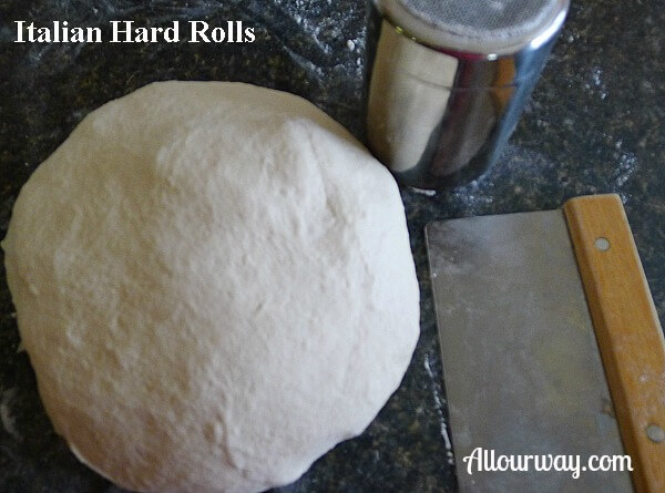Italian, hard, rolls, dough,
