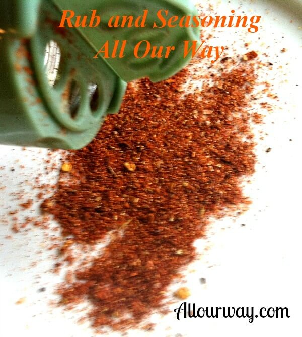 All Our Way Seasoning and Rub at allourway.com