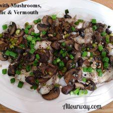 Balsamic Vinegar, Vermouth, Cod, Italian Porcini Mushrooms, Cremini mushrooms
