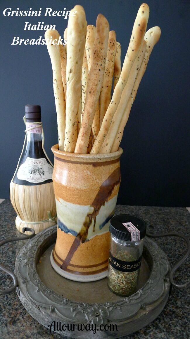 Grissini Breadsticks Crunchy Italian Breadsticks Recipe