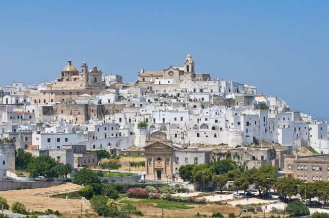Puglia Italy - a southeaster region where pugliese bread originated @ allourway.com
