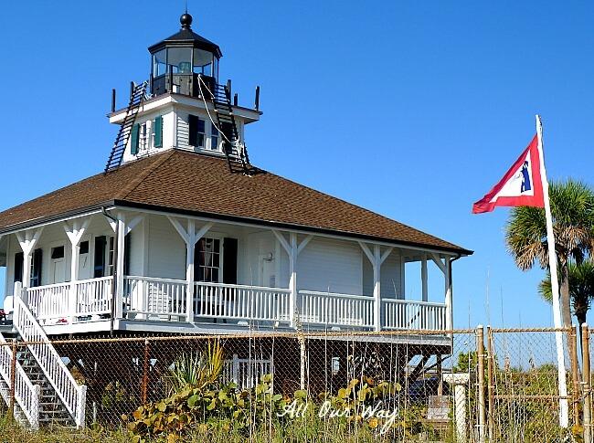 Boca Grande Lighthouse on Gasparilla Island, Florida @allourway.com