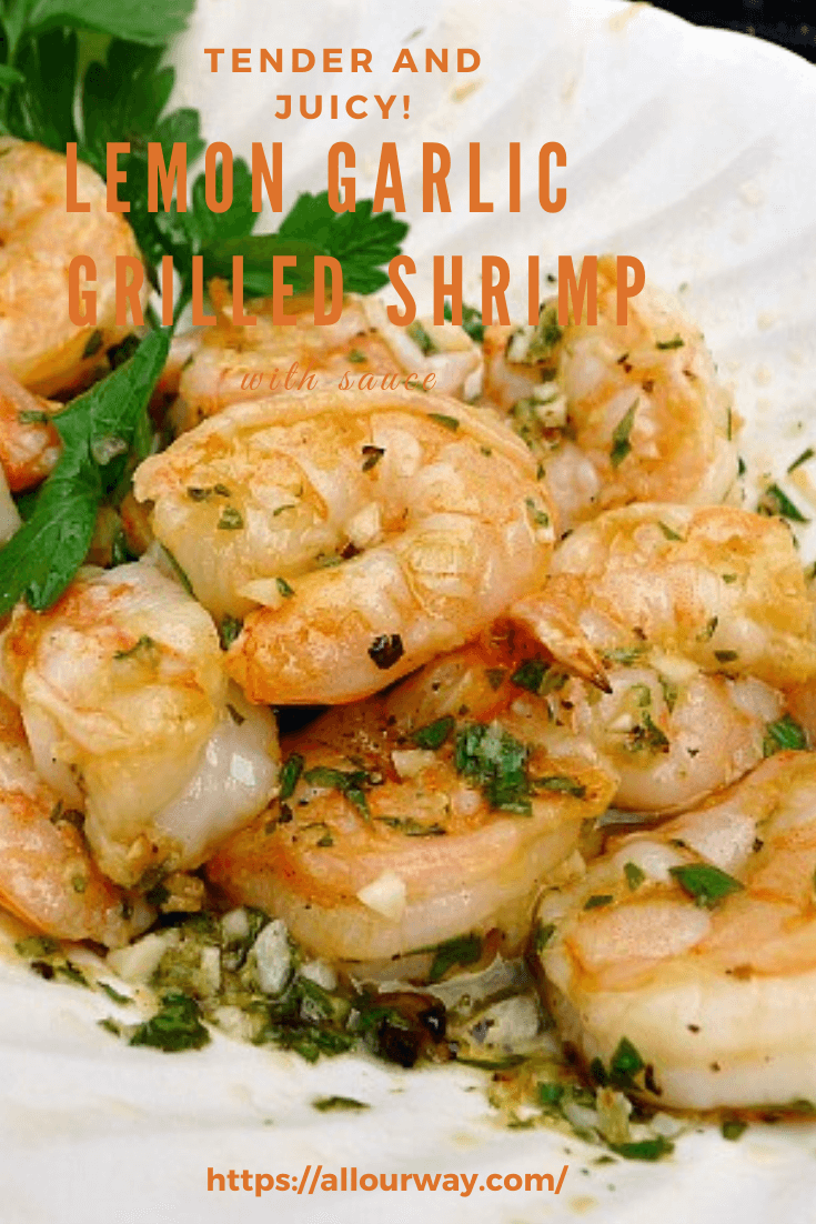 Grilled Shrimp With Capers : grilled, shrimp, capers, Grilled, Shrimp, Garlic, Lemon