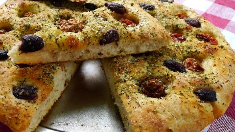 Focaccia Pugliese All Our Way