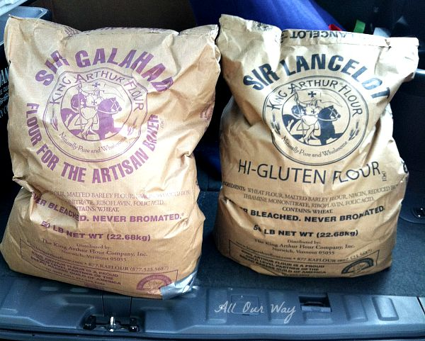 King Arthur Flour for the Soft Pretzels and Spicy Cheese Dip @allourway.com
