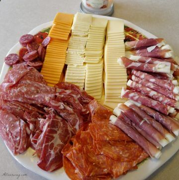 An Italian Antipasto is our appetizer @ allourway.com