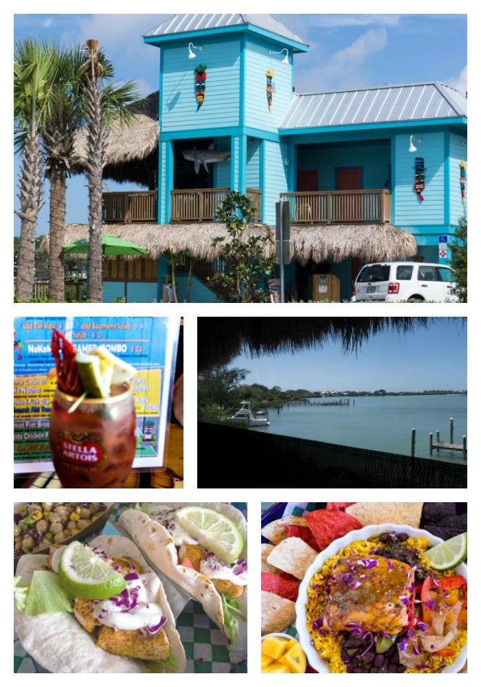 Arrivederci Venice Florida lunch at Nokomos Sunset Hut