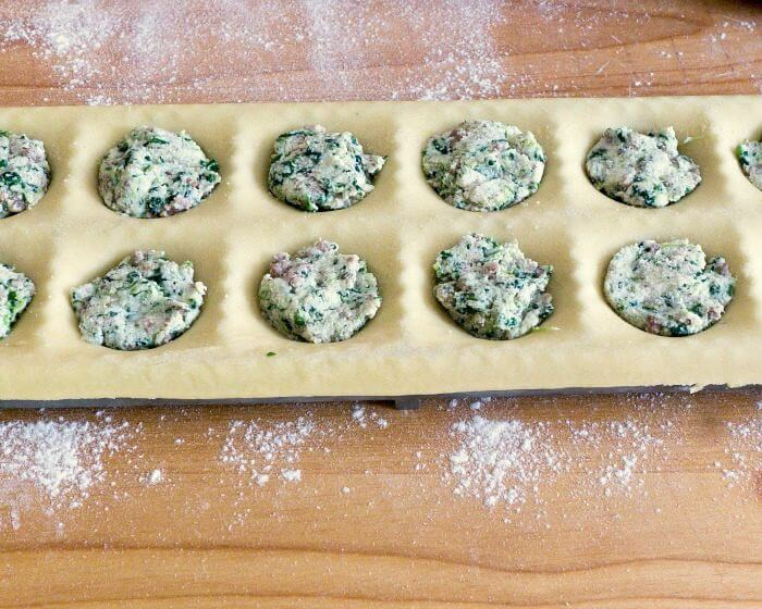 Spinach Ricotta Beef Ravioli Filling Recipe is so versatile it can be used as a filling in other pasta dishes @allourway.com