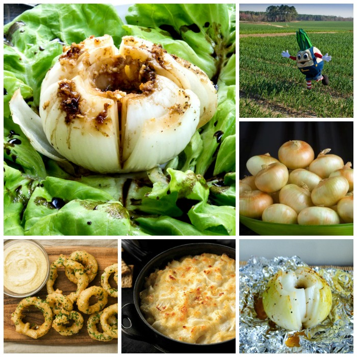 Garlic Roasted Vidalia Onions with Balsamic Glaze is not only tasty but good for you too @allourway.com