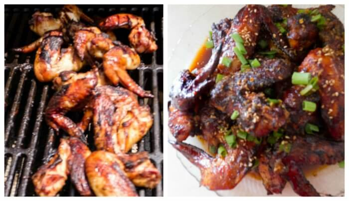 Amazing Blazing Asian Grilled Chicken Thighs/Wings @allourway.com