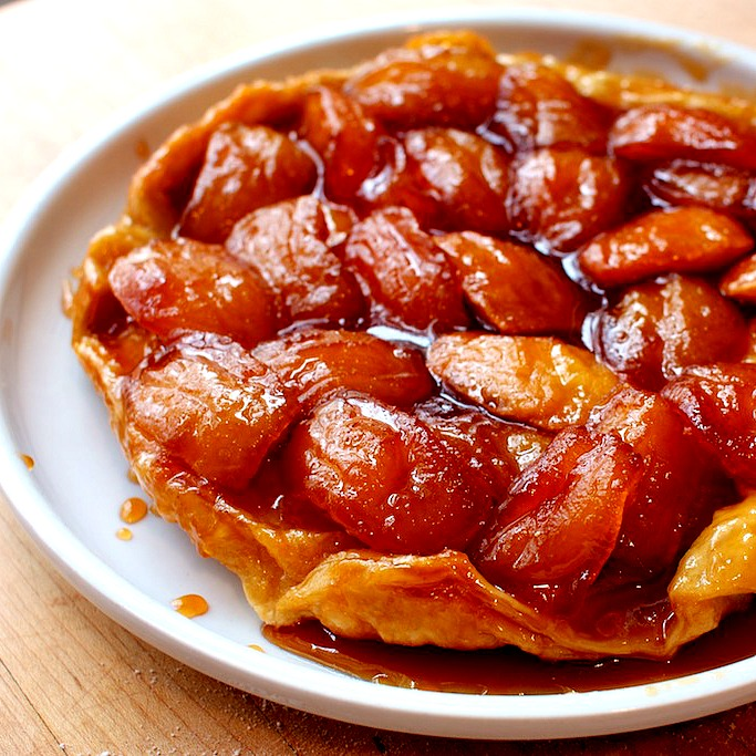 Tarte Tatin is my inspiration for Italian Plum Torte with Tantalizing Plum Glaze @allourway.com