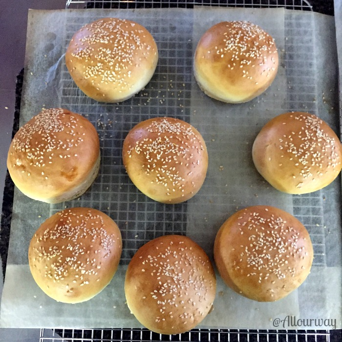 Easy 3-Hour Italian Dinner Rolls Dough into Sandwich Buns @allourway.com