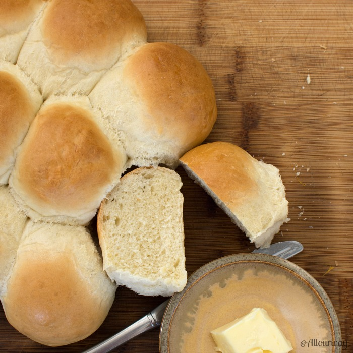 Easy 3-Hour Italian Dinner Rolls Feathery Light and Tasty @allourway.com