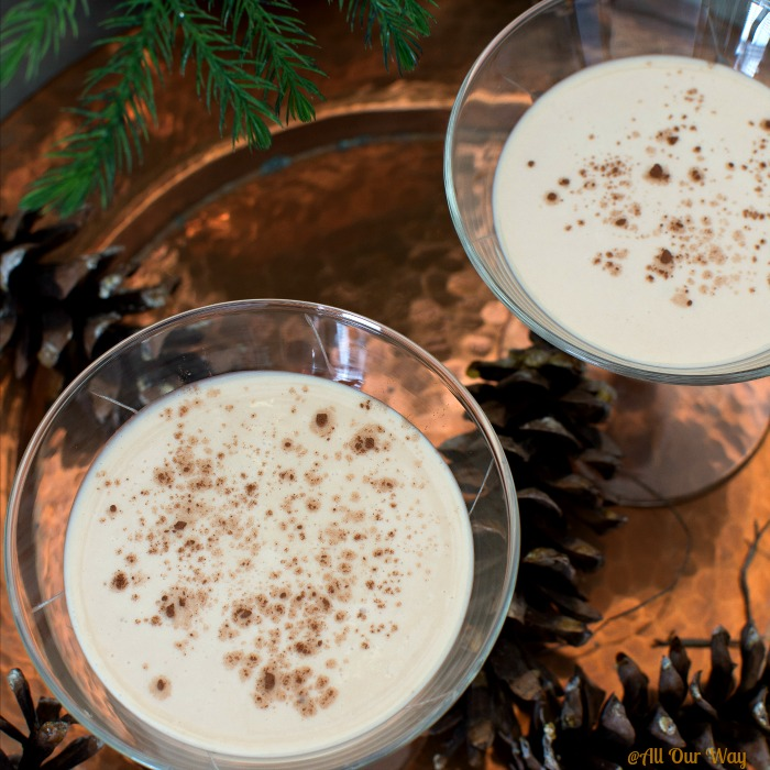 Heavenly Homemade Irish Cream is a mouth-watering dessert in a glass @allourway.com