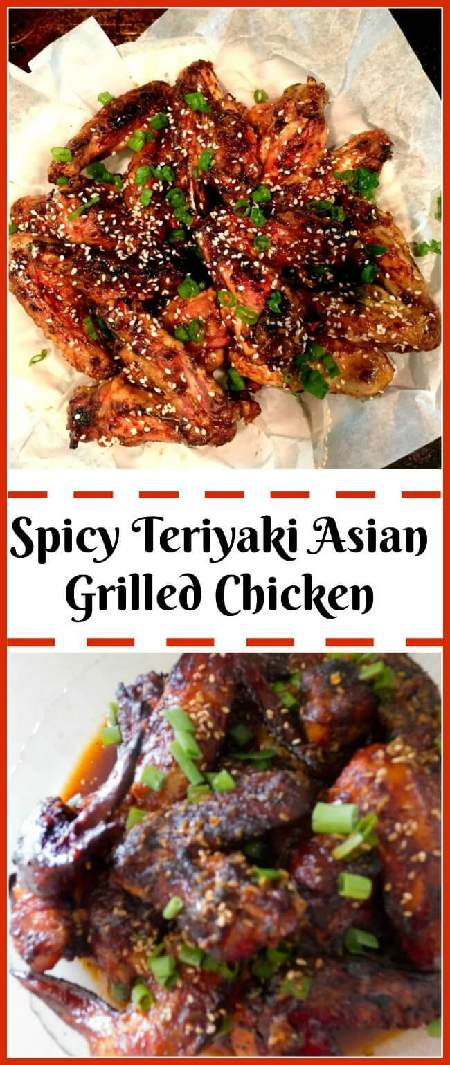 Spicy Teriyaki Chicken Finger licking good grilled or baked. @allourway.com