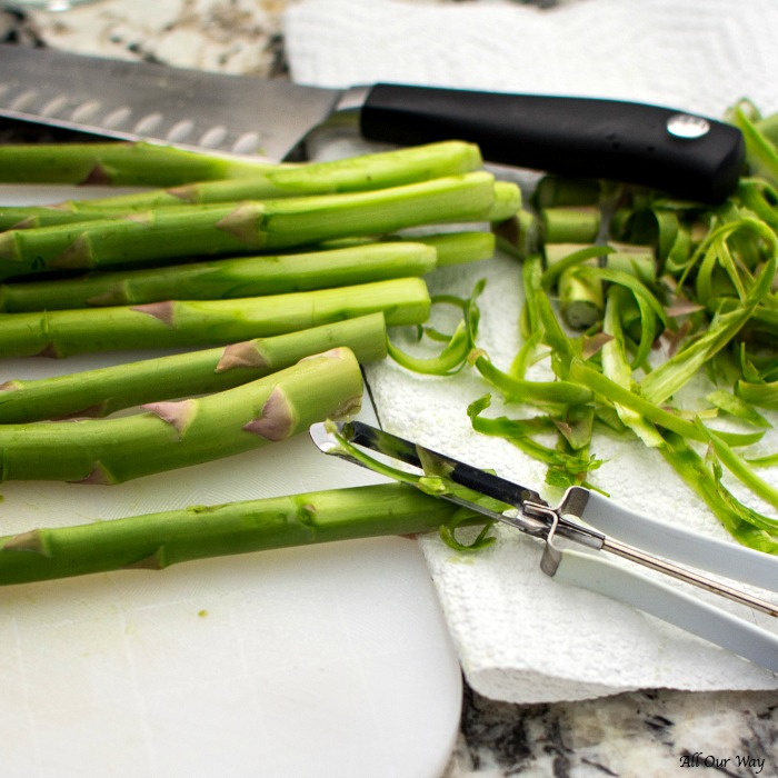 Roasted Lemon Garlic Asparagus with Parmesan is a quick and easy vegetable dish that captures the freshness of spring.