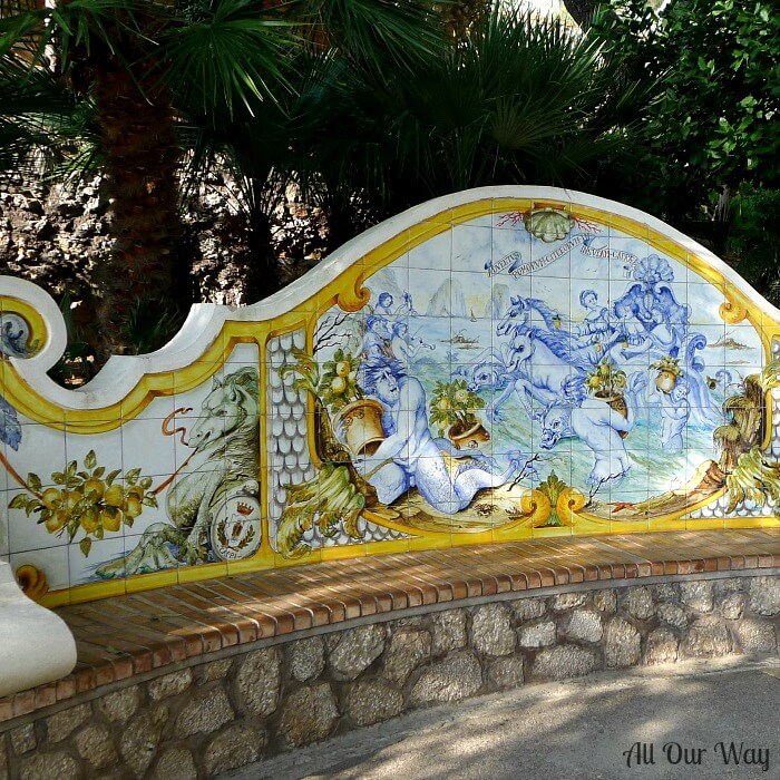 One Pan Orange Lemon Shrimp is inspired by all the beautiful citrus fruit on the Isle of Capri.