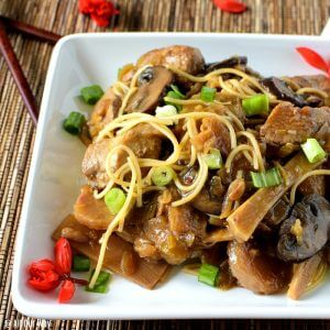 Chop Suey is a Chinese-American stew that gained popularity in the mid-20th century. It's delicious and great for extending the food budget.