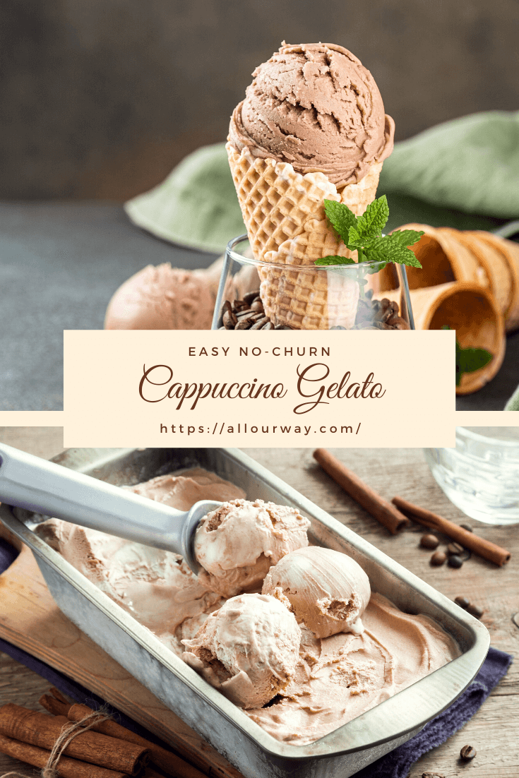 An easy creamy ice cream that is made by combining sweetened condensed milk with whipped cream and flavored with espresso and coffee liqueur. A nice after dinner treat or simply a delicious treat.