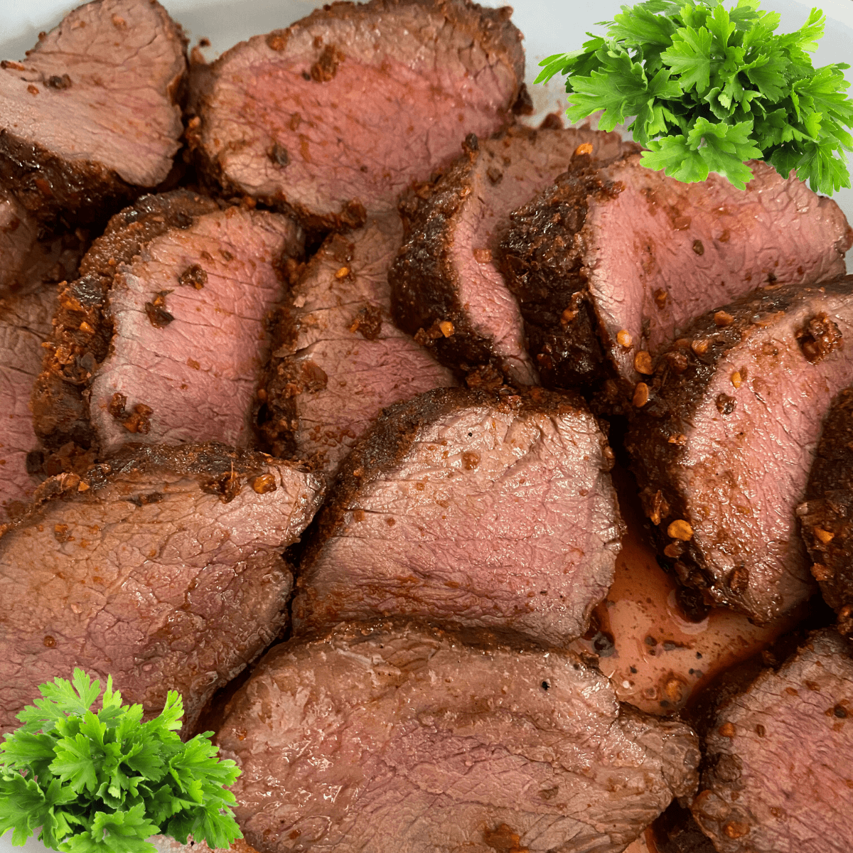 Grilled Dry Rubbed Venison Backstrap