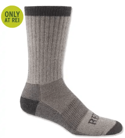REI Merino Wool Light Hiker Socks - The Best Hiking Socks - Don't Leave Camp Without These Camping Socks!