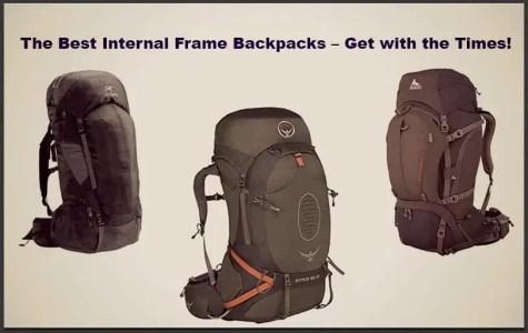 top internal frame backpack