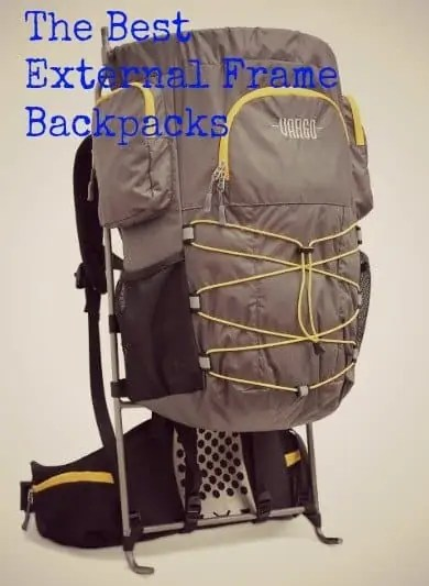 top external frame backpack