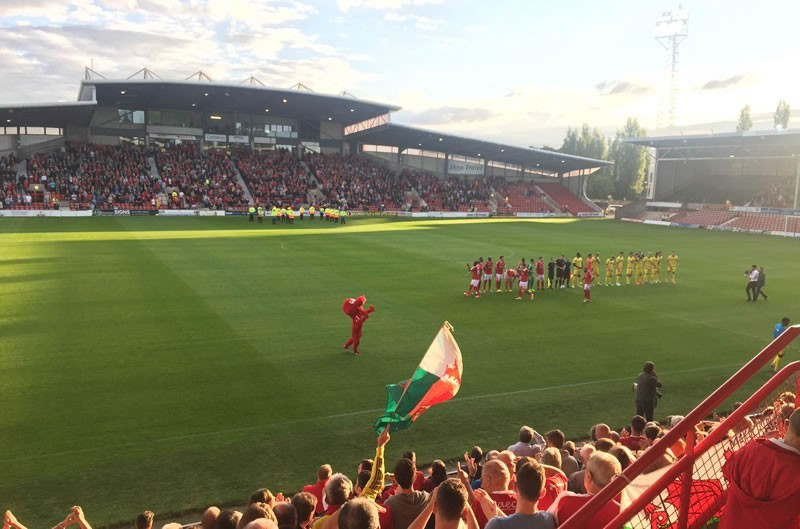 Wrexham 4-1 Ebbsfleet - Match Overview and Wrexham Player Ratings