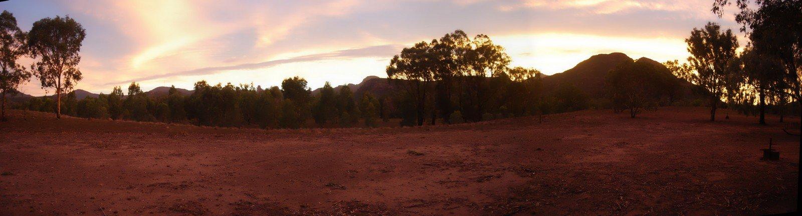 Warrumbungles Sunset