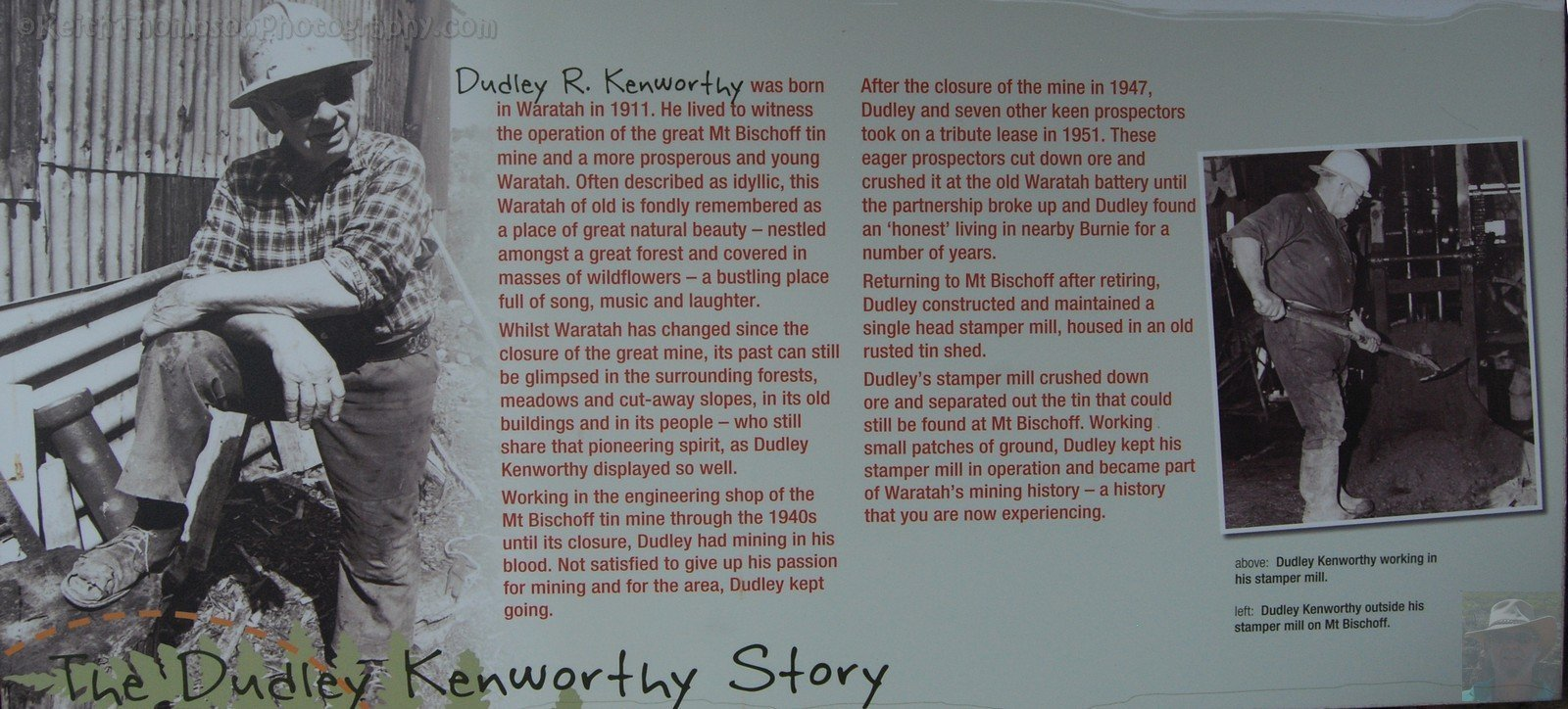 The Dudley Kenworthy Story