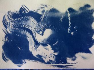 cyanotype mask