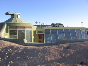 Earthship rental: Off the grid in the desert