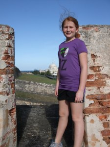 Exploring the forts in San Juan