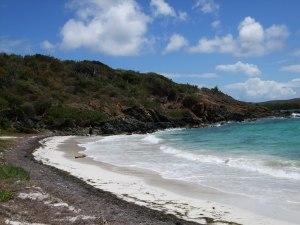 A Vieques beach