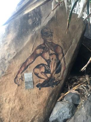 burleigh-heads-national-park-grave-site-tyson-robert-fabbro-painting
