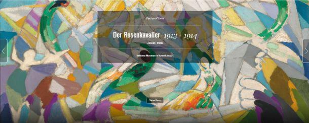Der Rosenkavalier by Joseph Stella