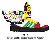 Jeremy Scott Adidadas Wings