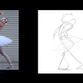 3 videos on basic sketching techniques