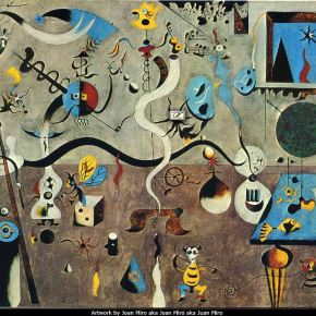 miro exhibition at SAM