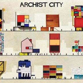 if famous artists designed buildings