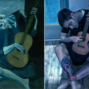 office humor: recreating classic paintings