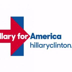 hillary clinton's controversial logo