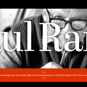 Design pioneers: Paul Rand.