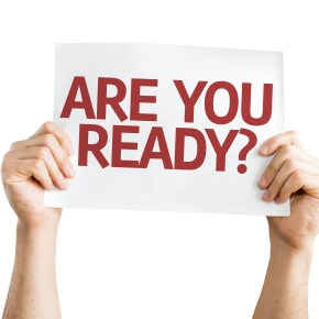The importance of being ready