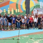 Alloy Silverstein Volunteers at Urban Promise in Pennsauken NJ