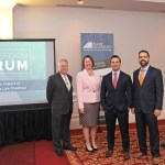 Dennis Vogt, Julie Strohlein, Ren Cicalese III, Daniel Mellor at Woodcrest Country Club, Cherry Hill, NJ, for January 17th's Tax Reform Forum.